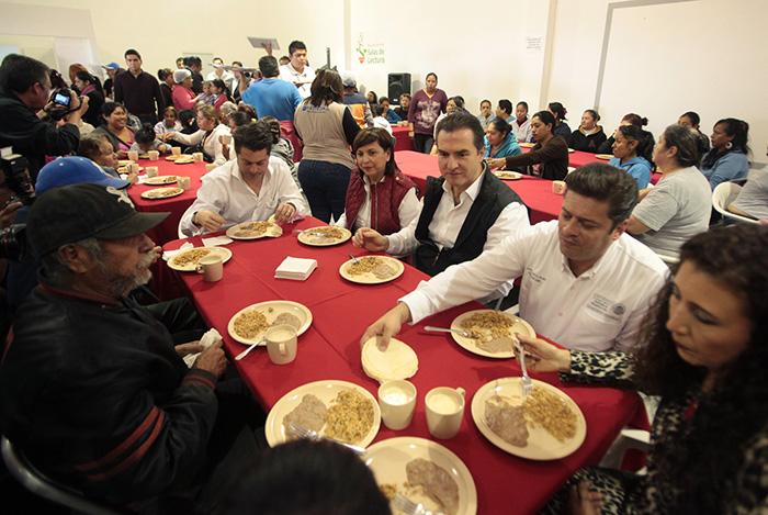 Inaugura Alcalde De Monterrey Segundo Comedor Comunitario